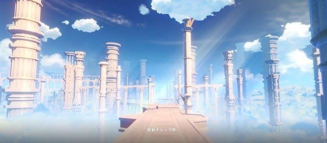 ゲーム開始画面の柱