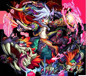 獣神化追加第4弾:闇属性 ★6 闇へ導く魔笛 ハーメルン
