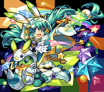 木属性 ★6 流星の大魔術師 マーリン