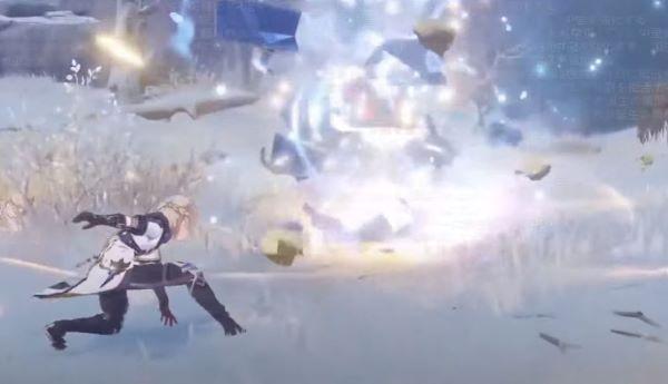アルベドの元素爆発